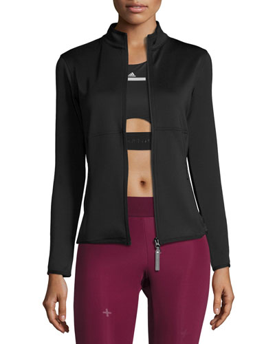 The Midlayer Zip-Front Jacket, Black
