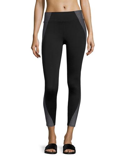 Tread Full-Length Performance Leggings, Black Pattern