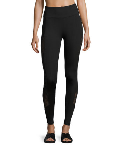 Rhett Side Panel Legging, Black