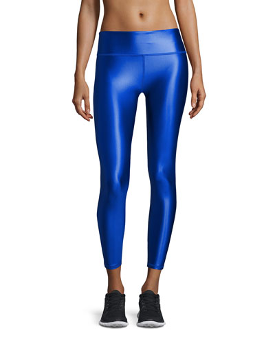 Brady Luster Performance Leggings, Cobalt