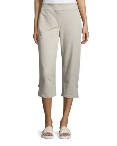 Plus Size Zen Capri Pants, Stone