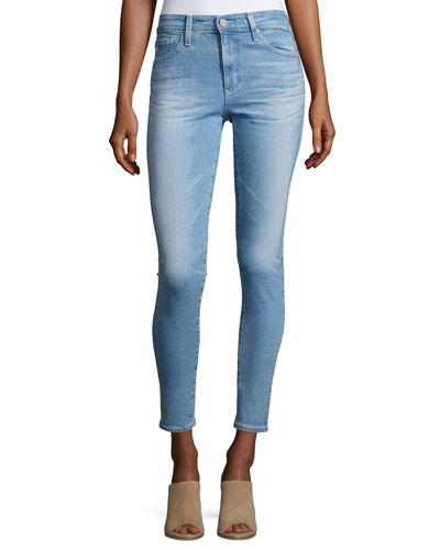 Ag Cropped Denim Jeans | Neiman Marcus