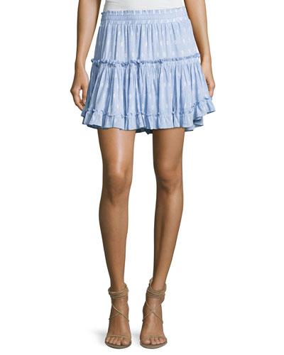 Signature Marion Skirt, Multipattern