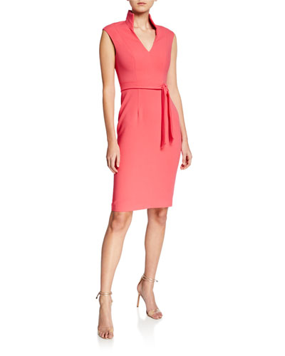 83a2b30a79eec Black Halo Sheath Dress | Neiman Marcus