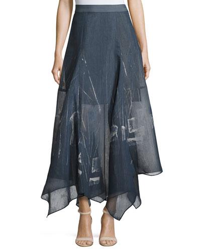 Spring Tide Handkerchief Skirt, Petite