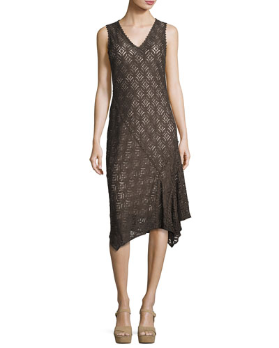 First Bloom Lace Dress, Dark Truffle