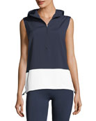 Hooded Running Performance Vest