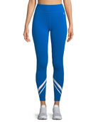 Chevron Full-Length Performance Leggings