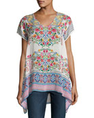 Trends Short-Sleeve Printed Top