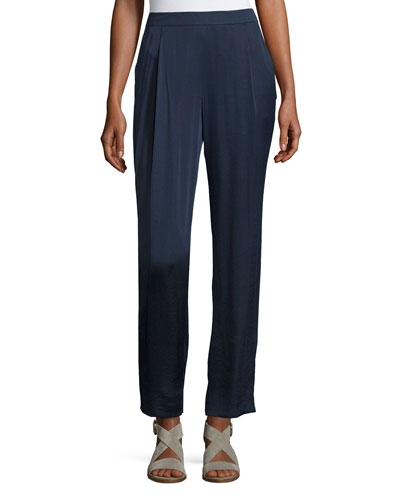 Soho Luminous Cloth Track Pants, Ink