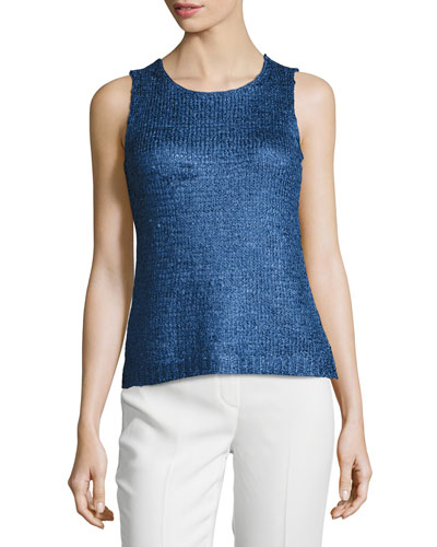 Petite Day Dreamer Tape Yarn Tank