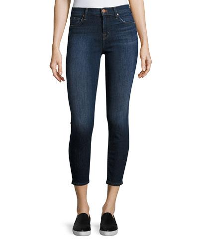 Mid-Rise Skinny Capri Jeans, Scout