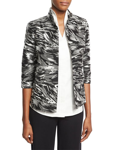 Dressed Up Swirl Jacket, Plus Size