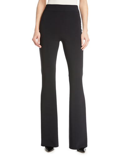 Venus High-Rise Flare Jersey Pants