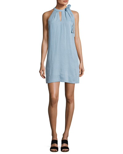 Esme Sleeveless Denim Dress, Graceful