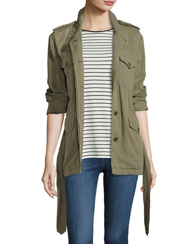 Bennett Utility Army Jacket, Green
