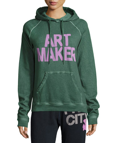 Art Maker Pullover Hoodie, Green