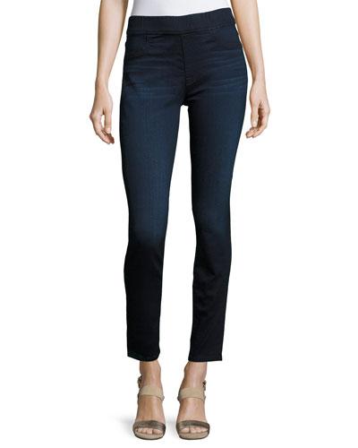 Comfort Skinny Jeans, Blue/Black