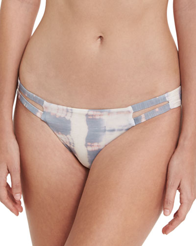 Neutra Tie-Dye Swim Bottom, Multipattern