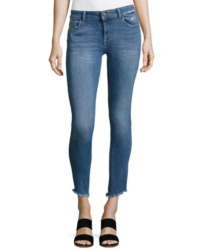 Margaux Instasculpt Ankle Skinny Jeans, Indigo