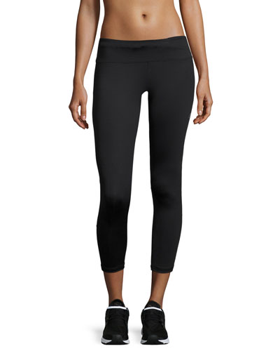 Varley Lexington Cropped 7/8 Leggings, Black