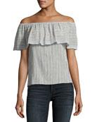 Fetir Off-The-Shoulder Cotton Top