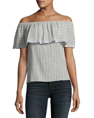 Fetir Off-The-Shoulder Cotton Top