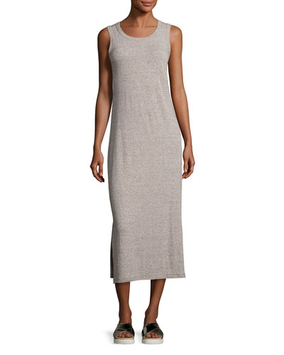 The Perfect Muscle Tee Maxi Dress, Gray