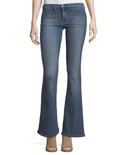 Molly Low-Rise Flared Jeans