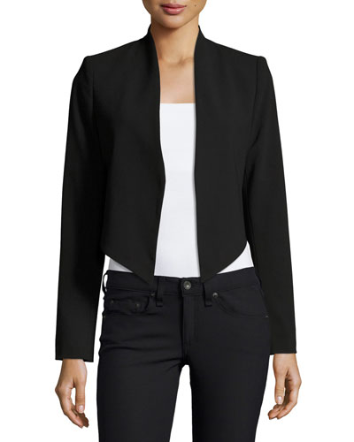 Roxanne Collarless Cropped Jacket