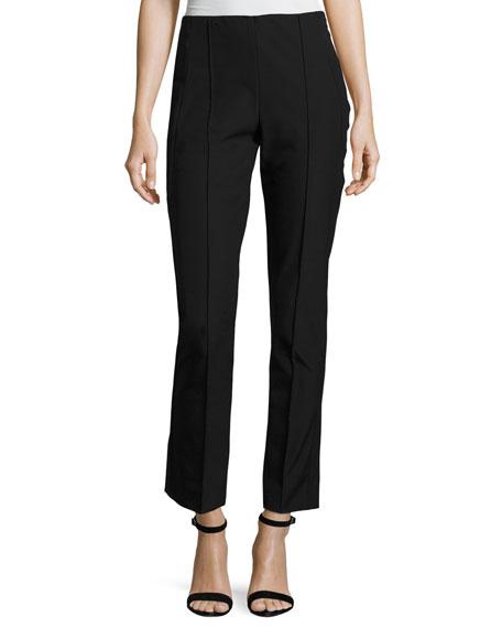 Misook Plus Size Slim Stretch Techno Pants