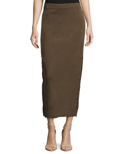 Knit Midi Skirt, Hazel, Plus Size