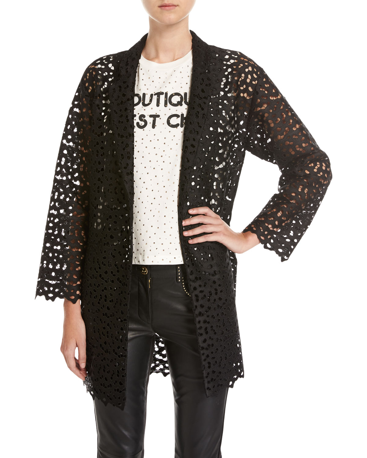 Macramé Lace Topper Jacket