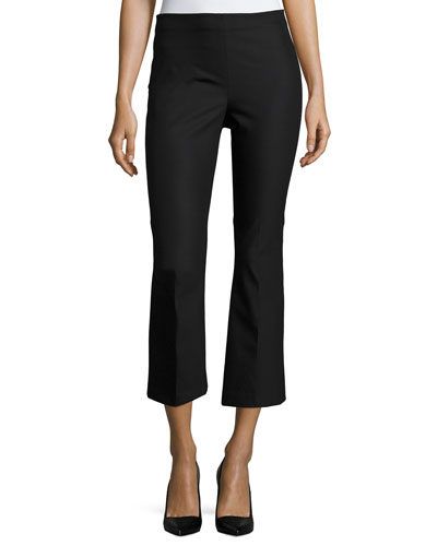 Erstina B. Mid-Rise Approach Pants, Black