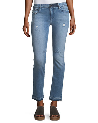 Curtis Low-Rise Straight-Leg Jeans