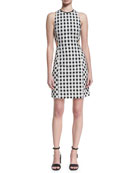 Tahoe Sleeveless Checkered-Print Dress