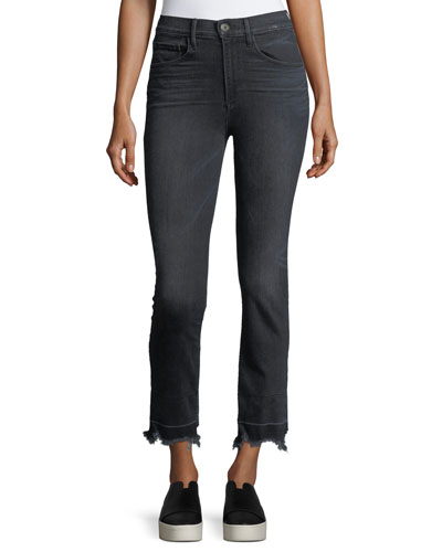Shelter Straight-Leg Crop Jeans
