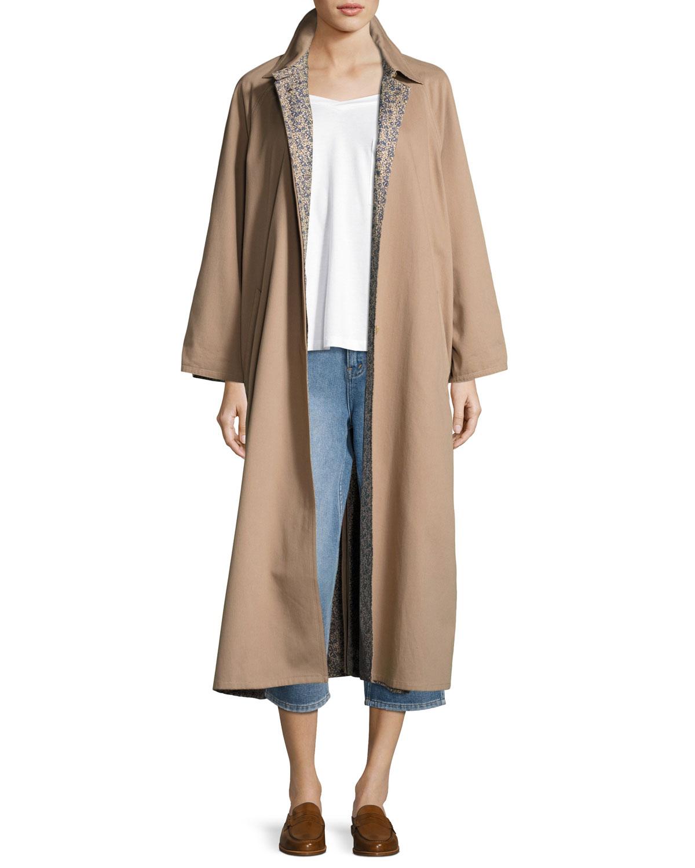 Reversible Trench Coat, Camel