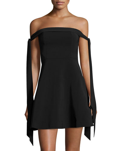 Another World Off-The-Shoulder Dress