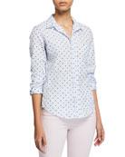 Frank & Eileen Barry Long-Sleeve Button-Down Shirt, Blue