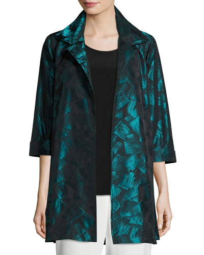 Brushstroke Jacquard Party Jacket