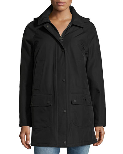 Whirl Water-Resistant Jacket, Black
