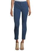 Tonal-Print Riche-Touch Jeans