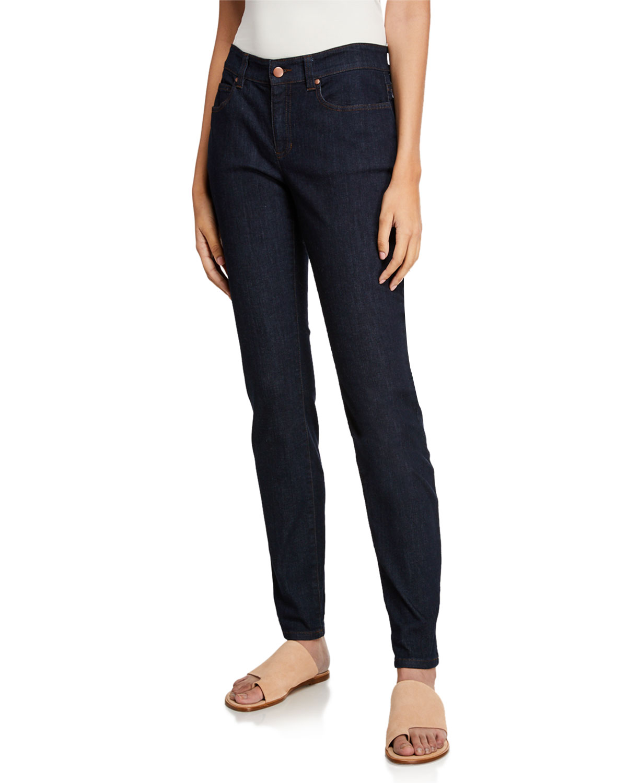 Stretch Skinny Jeans, Plus Size