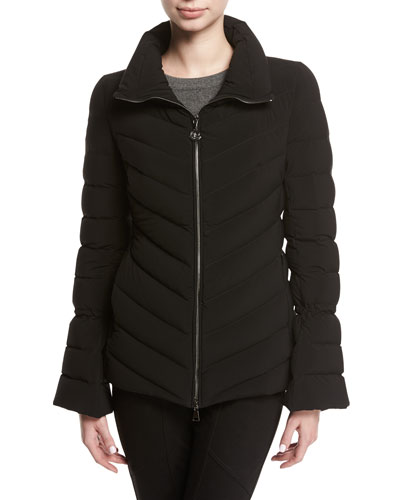 Solanum Quilted Puffer Jacket