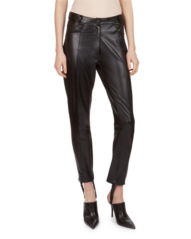 Benson Leather Stirrup Pants