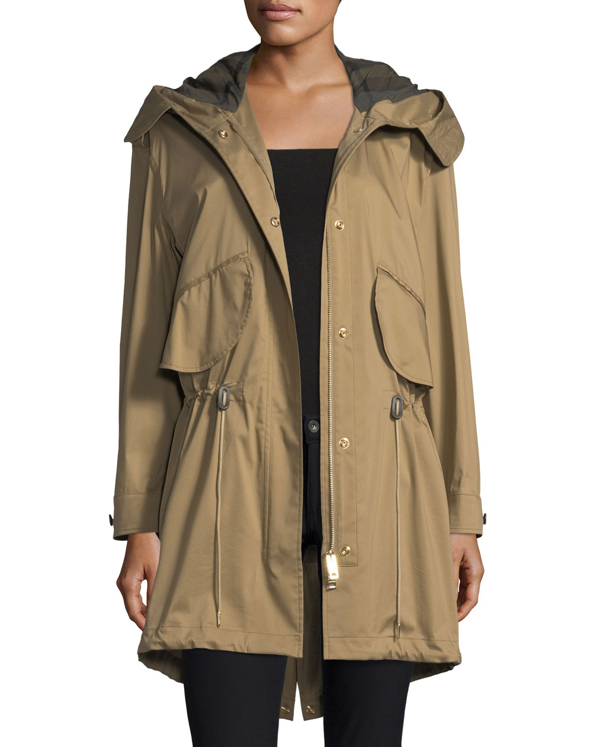 Chiltondale Hooded Drawstring Parka