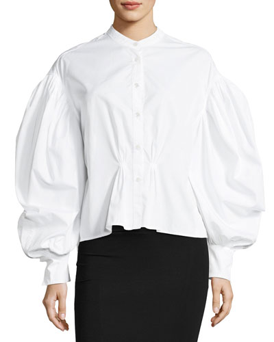 Lillium Voluminous-Sleeve Shirt