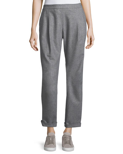 Soho Italian Flannel Track Pants