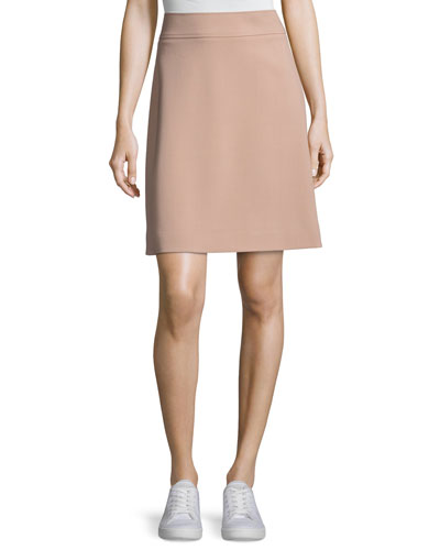 Camogie High-Waist Mini Skirt, Pink
